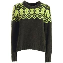 textil Dame Pullovere Fracomina F120W01020K04501 Grøn