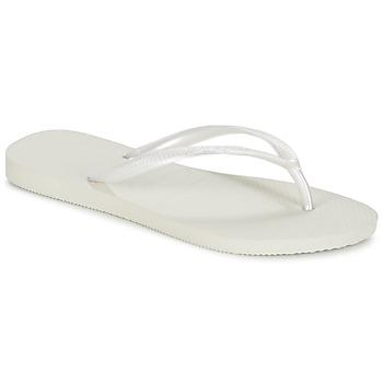 Sko Dame Flip flops Havaianas SLIM Hvid