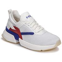 Sko Dame Lave sneakers Skechers SPLIT/OVERPASS Hvid / Blå / Rød