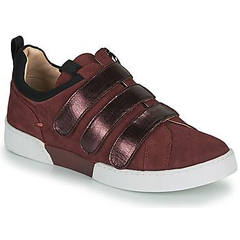 Sko Dame Lave sneakers JB Martin GERADO Bordeaux