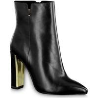 Sko Dame Høje støvletter Tamaris DA Stiefel Black Heel Boots Sort