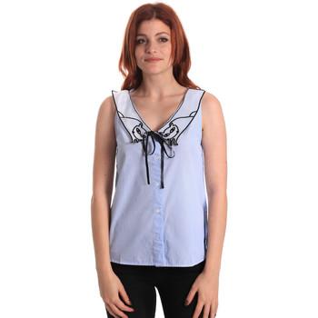 textil Dame Toppe / Bluser Fornarina SE174576CA1218 Blå