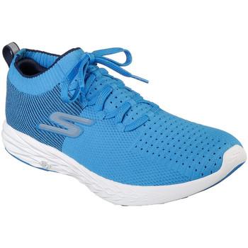 Sko Herre Sneakers Skechers 55209 Blå
