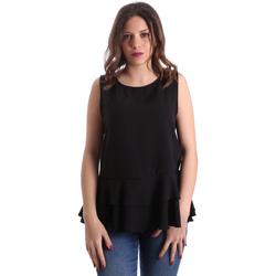 textil Dame Toppe / Bluser Gaudi 911FD45048 Sort