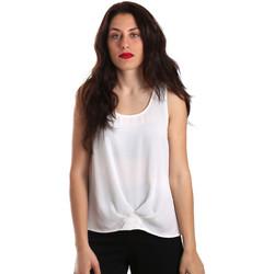 textil Dame Toppe / Bluser Gaudi 911BD45001 hvid