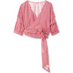 textil Dame Toppe / Bluser Liu Jo F19024T4037 Rød