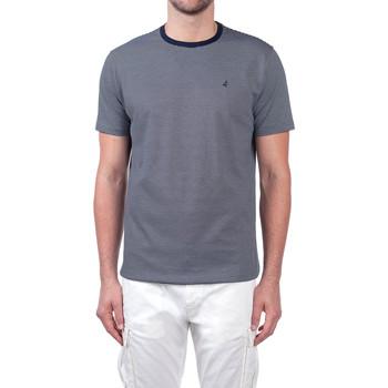 textil Herre T-shirts m. korte ærmer Navigare NV70031 Blå