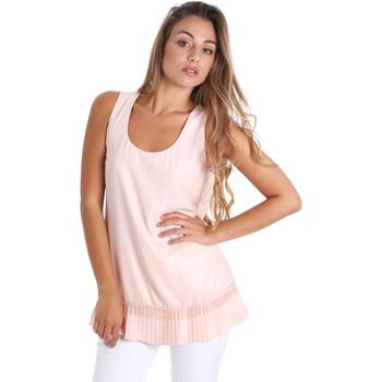 textil Dame Toppe / Bluser Fracomina FR20SM014 Lyserød