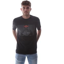 textil Herre T-shirts m. korte ærmer Sprayground 21SFW004 Sort