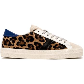 Sko Dame Lave sneakers Date W331-HL-PN-LA Grøn
