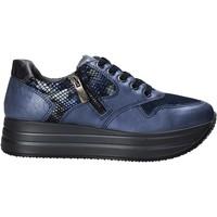 Sko Dame Lave sneakers IgI&CO 6166211 Blå