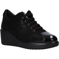 Sko Dame Lave sneakers Valleverde 36221 Sort