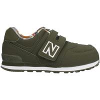 Sko Børn Lave sneakers New Balance NBIV574GYL Grøn