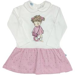 textil Pige Korte kjoler Melby 20A0011 hvid