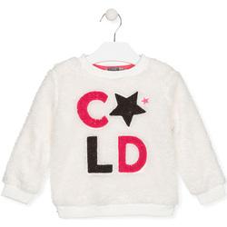textil Børn Sweatshirts Losan 026-6028AL hvid