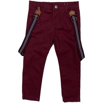 textil Børn Chinos / Gulerodsbukser Losan 025-9790AL Rød