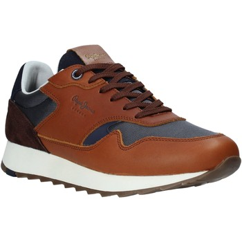 Sko Herre Lave sneakers Pepe jeans PMS30690 Brun