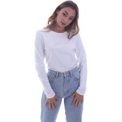 textil Dame Langærmede T-shirts Calvin Klein Jeans K20K202386 hvid