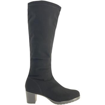 Sko Dame Chikke støvler Susimoda 825481 Sort