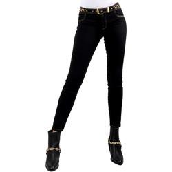 textil Dame Smalle jeans Versace A1HVB02HAPV4P899 Sort