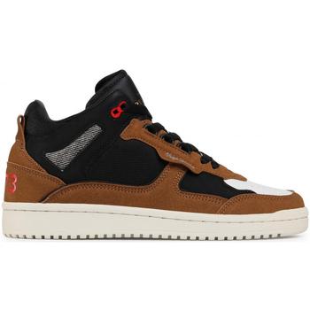 Sko Herre Høje sneakers Pepe jeans PMS30685 Brun