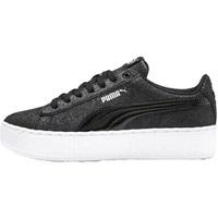 Sko Børn Lave sneakers Puma 370171 Sort