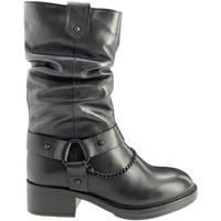 Sko Dame Chikke støvler Apepazza F0BEATRIX01/LEA Sort