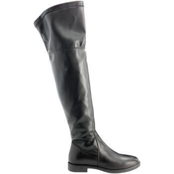 Sko Dame Lårhøje støvler Grunland ST0463 Sort