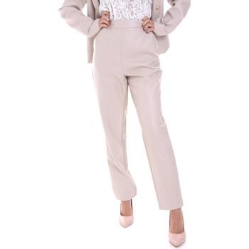 textil Dame Chinos / Gulerodsbukser Fracomina F120W10062E00701 Beige