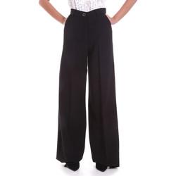 textil Dame Løstsiddende bukser / Haremsbukser Fracomina F120W10069W05301 Sort