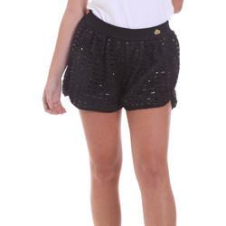textil Dame Shorts Fornarina BE171M03H26400 Sort