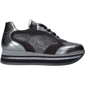 Sko Dame Lave sneakers Grace Shoes GLAM001 Sølv