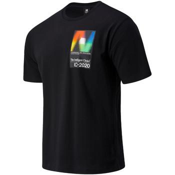 T-shirts m. korte ærmer New Balance  NBMT03529BK