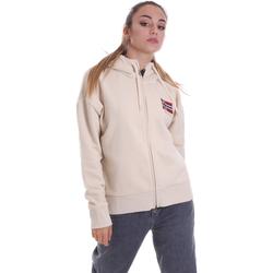 textil Dame Sweatshirts Napapijri NP0A4EOH Beige