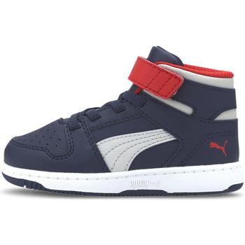 Sko Børn Sneakers Puma 370489 Blå