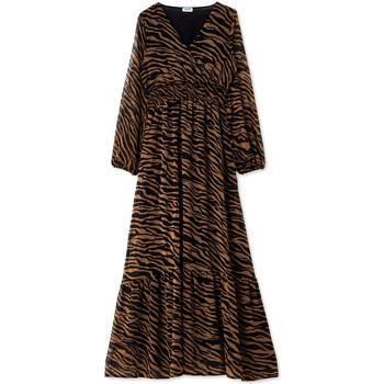 textil Dame Lange kjoler Liu Jo WF0194 T0110 Sort