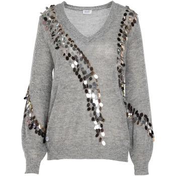 textil Dame Pullovere Liu Jo MF0014 MA63J Grå