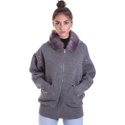 textil Dame Veste / Cardigans Gaudi 021BD33001 Grå