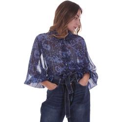 textil Dame Toppe / Bluser Gaudi 021BD45006 Blå