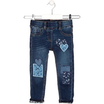 textil Børn Lige jeans Losan 026-6019AL Blå