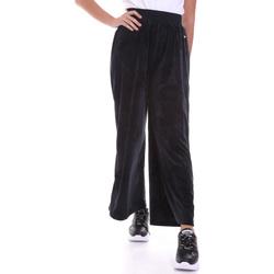 textil Dame Løstsiddende bukser / Haremsbukser Key Up 5CS54 0001 Sort