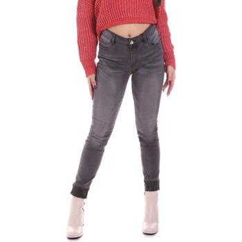 textil Dame Jeans - skinny Gaudi 021BD26024 Grå