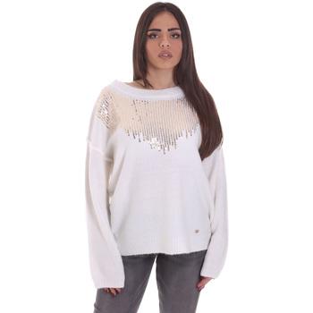textil Dame Pullovere Gaudi 021BD53044 hvid