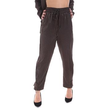 textil Dame Chinos / Gulerodsbukser Gaudi 021FD25017 Sort