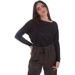 textil Dame Langærmede T-shirts Gaudi 021FD64014 Sort