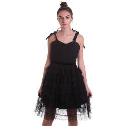textil Dame Korte kjoler Fracomina F120W14019W01201 Sort