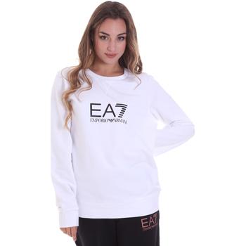 textil Dame Sweatshirts Emporio Armani EA7 8NTM39 TJ31Z hvid