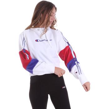 textil Dame Sweatshirts Champion 113338 hvid