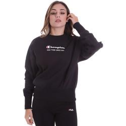 textil Dame Sweatshirts Champion 113314 Sort
