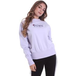 textil Dame Sweatshirts Champion 113314 Lyserød